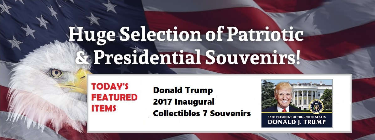 Donald Trump Inauguration Souvenirs