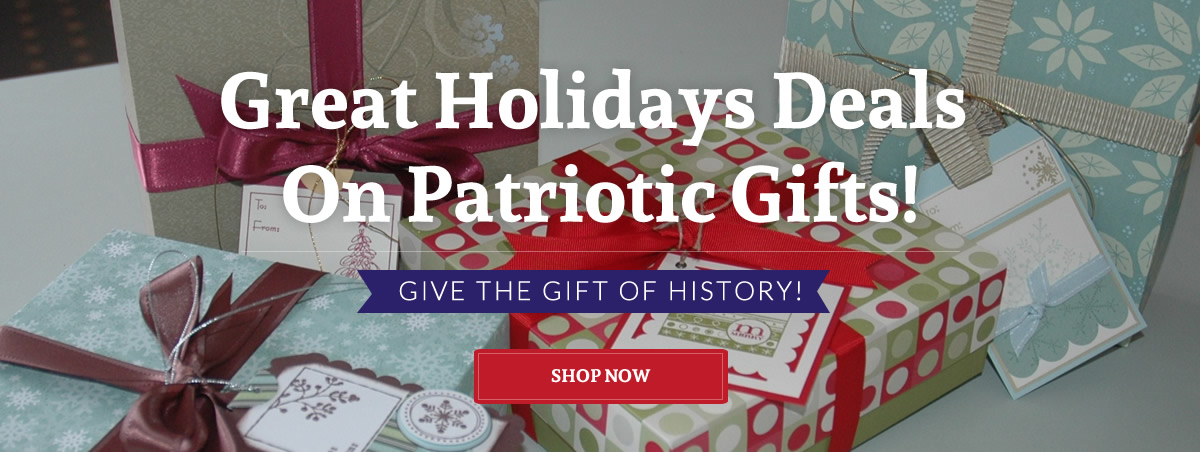 Holiday sale on Patriotic Presidential Souvenirs